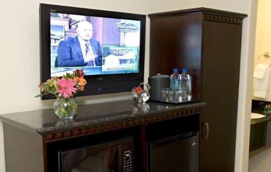 Flat-Screen TV's and Modern Conveniences
