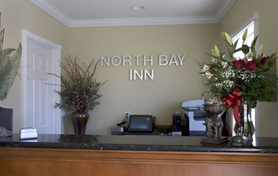 Welcome To North Bay Inn - Reception Desk
