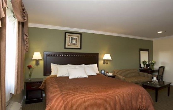 Welcome To North Bay Inn - King Suite With Sofa Sleeper And Vanity Area
